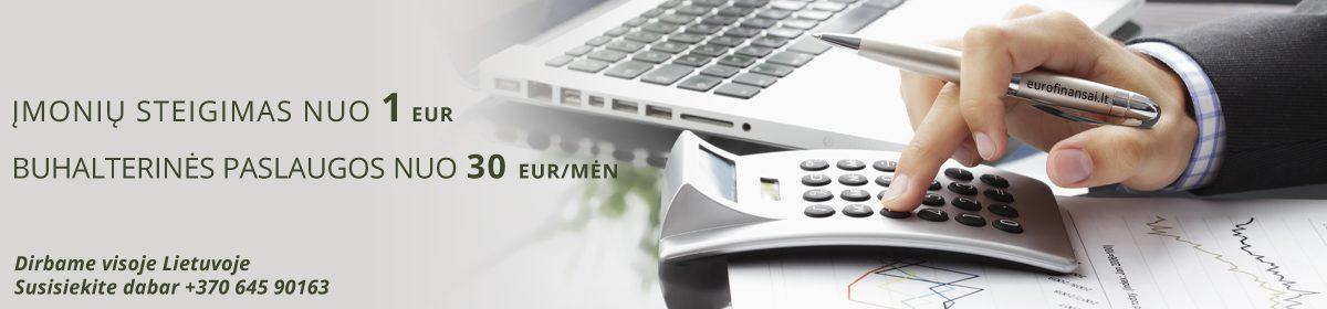 Eurofinansai – Buhalterinė apskaita ir įmonių steigimas